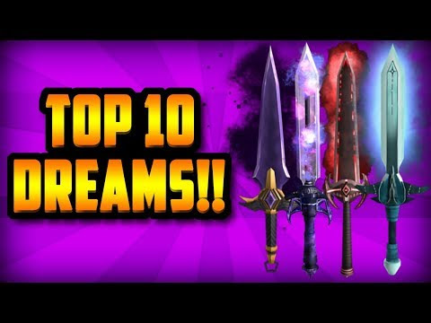 Roblox Assassin Dream Value List