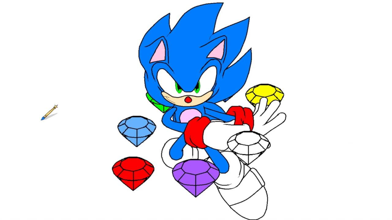 Sonic The Hedgehog Colouring Pages To Print at GetDrawings ...