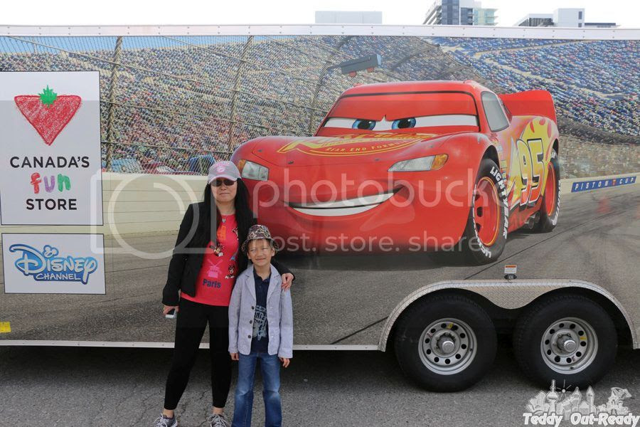 Lightning McQueen Canadian Road
