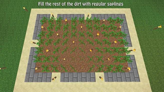 Oak Tree Farm Minecraft