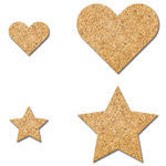 Cork Hearts and Stars-Wonderful Day-Fancy Pants