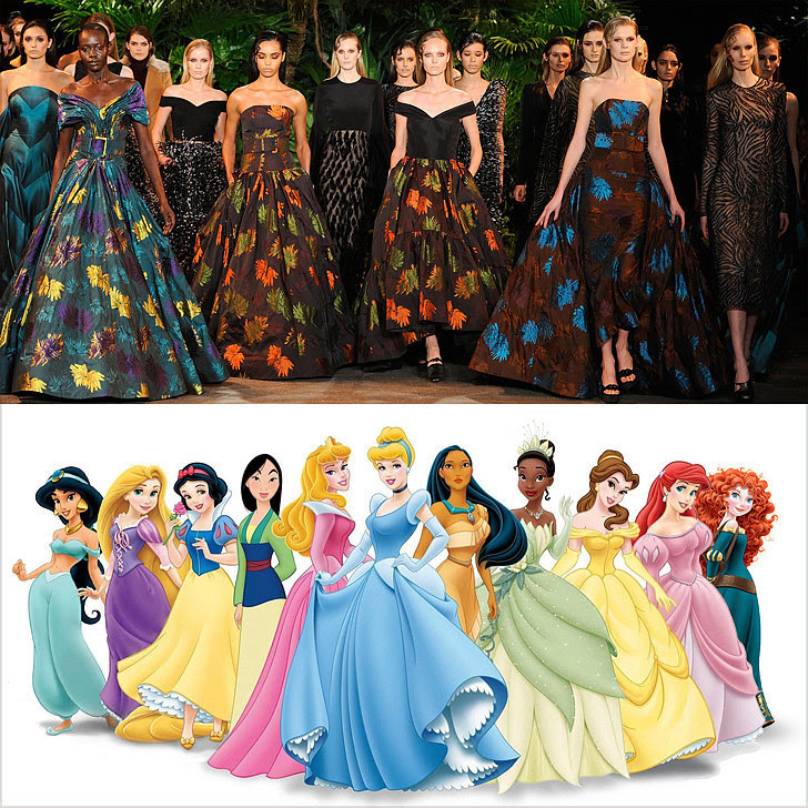 Dresses That Look Like Disney Princess Gowns From Fall ...