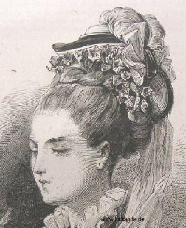Lorkande Frühe Tournüre Hüte