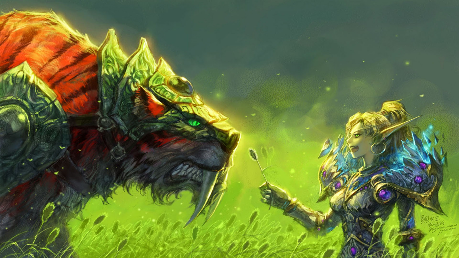 World of WarCraft ( WoW ) Orc Warrior Armor Horns Games Fantasy ... | 1080x1920