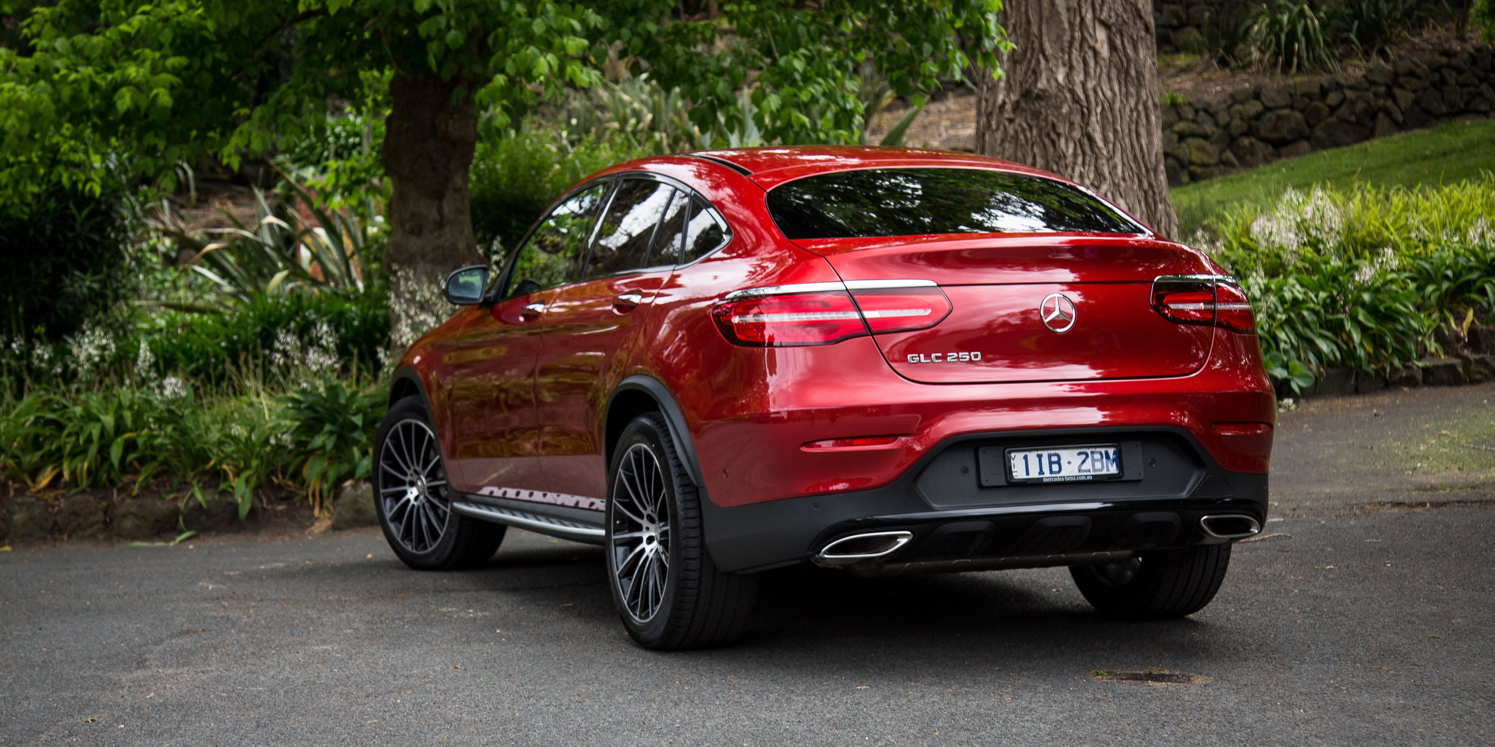 2017 Mercedes-Benz GLC Coupe review   CarAdvice