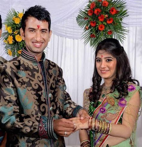 Cheteshwar Pujara Wedding With Puja ? Indian Weddings