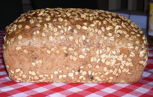 Whole Wheat Sandwich Bread with Oats and Pecans7