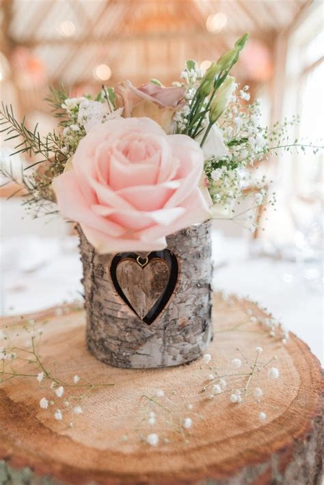 Pretty Pale Pink Country Barn Wedding   Decor   Country