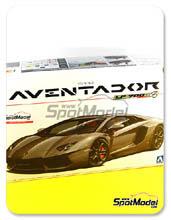 Car kit 1/24 by Aoshima - Lamborghini Aventador LP700-4
