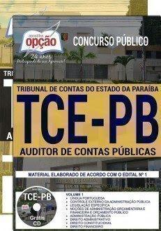 apostila TCE PB 2018 AUDITOR DE CONTAS PÚBLICAS