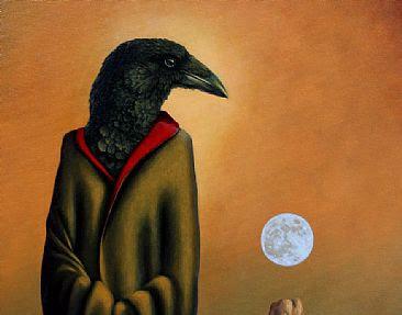 Moon Sentinel - detail head-crowbyLindaHerzog