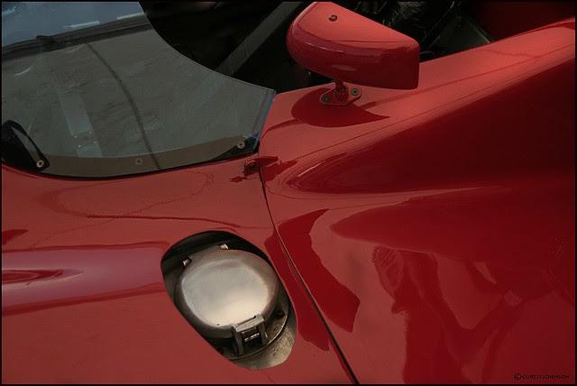 Alfa Romeo T33-3 1970 Fuel Cap
