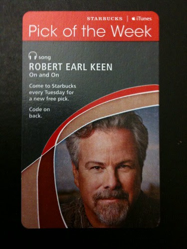 Starbucks iTunes Pick of the Week - Robert Earl Keen - On and On #fb