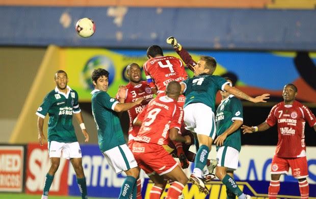 Goiás x América-RN - Série B (Foto: Ricardo Rafael / O Popular)
