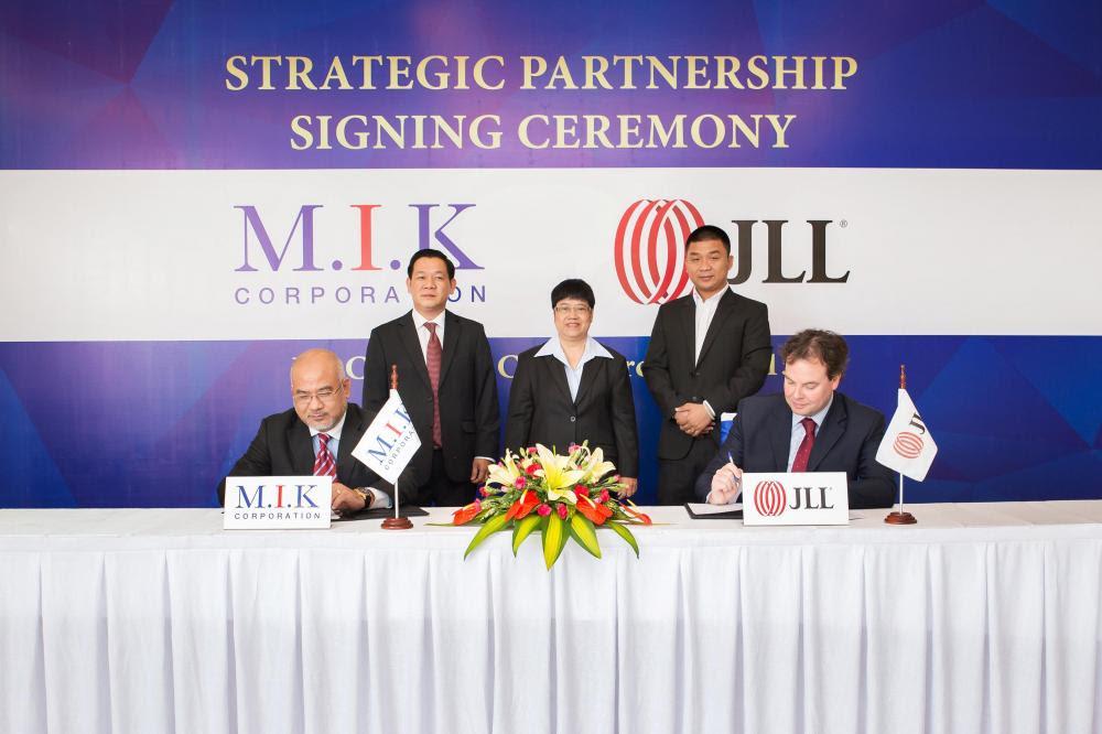 Tập đoàn M.I.K hợp tác chiến lược cùng Tập đoàn JLL