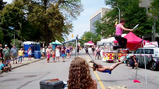BuskerFest St. Catharines - 13 August 2011 - NiagaraWatch.com