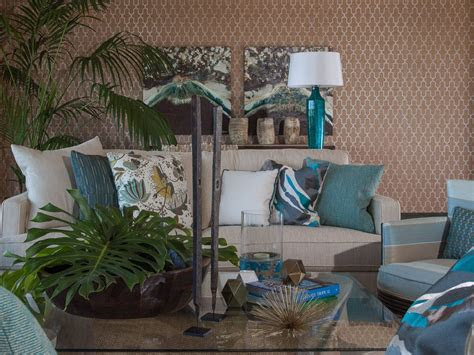alluring living room tropical design ideas  turquoise