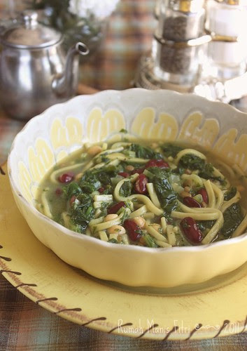 Persian Noodle Soup // Ash-e Reshteh by Fitri D. // Rumah Manis