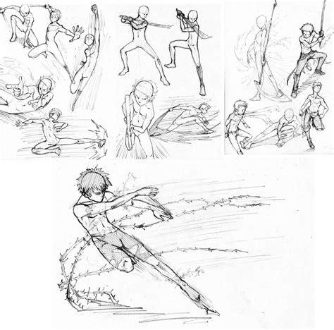 battle pose practice  mondoart  deviantart