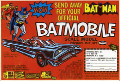 Mr Chips box w/ Batmobile offer