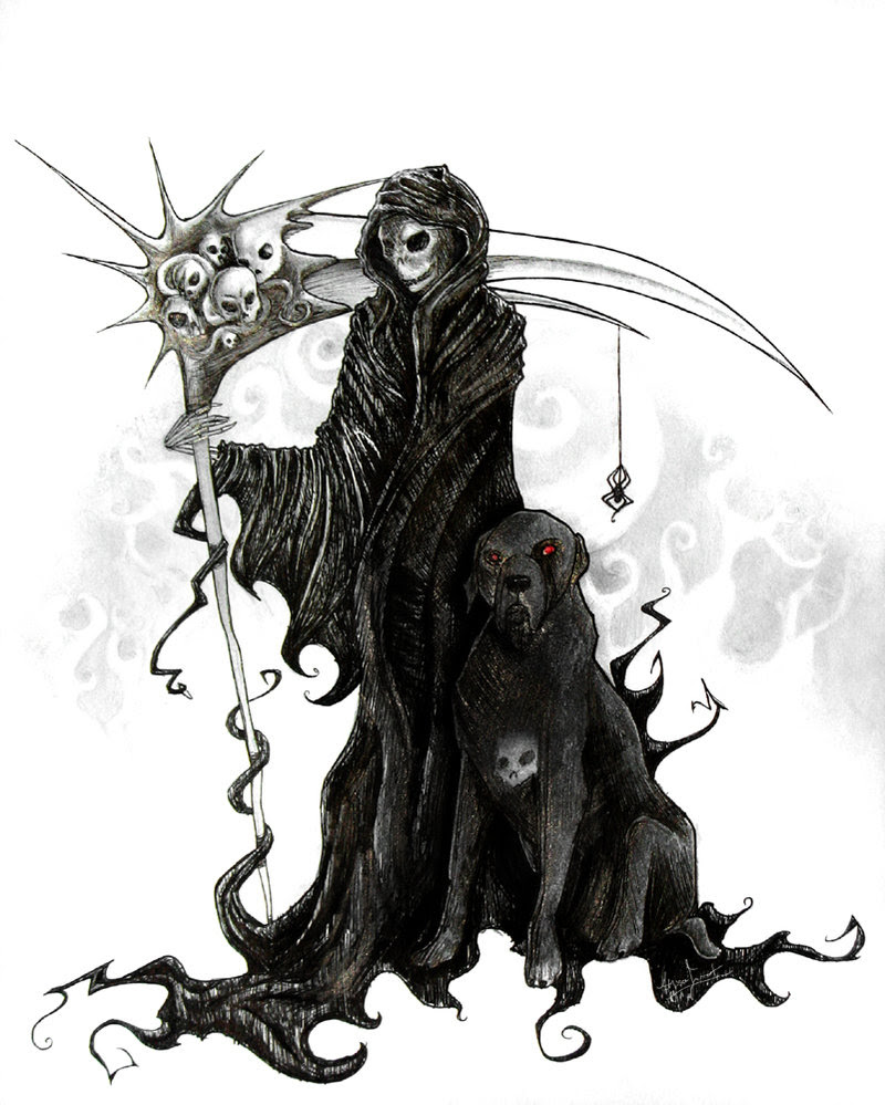 Grim Reaper Tattoos Designs For Guys