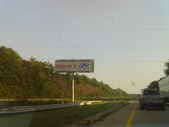 Back in Ohio! Still 3 more hours of driving for the day.