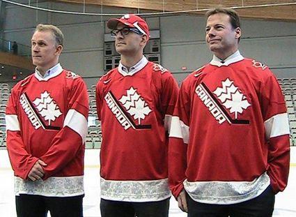 Jeff Shantz, Martin Gélinas and Gord Sherven 2012 jersey, Jeff Shantz, Martin Gélinas and Gord Sherven 2012 jersey