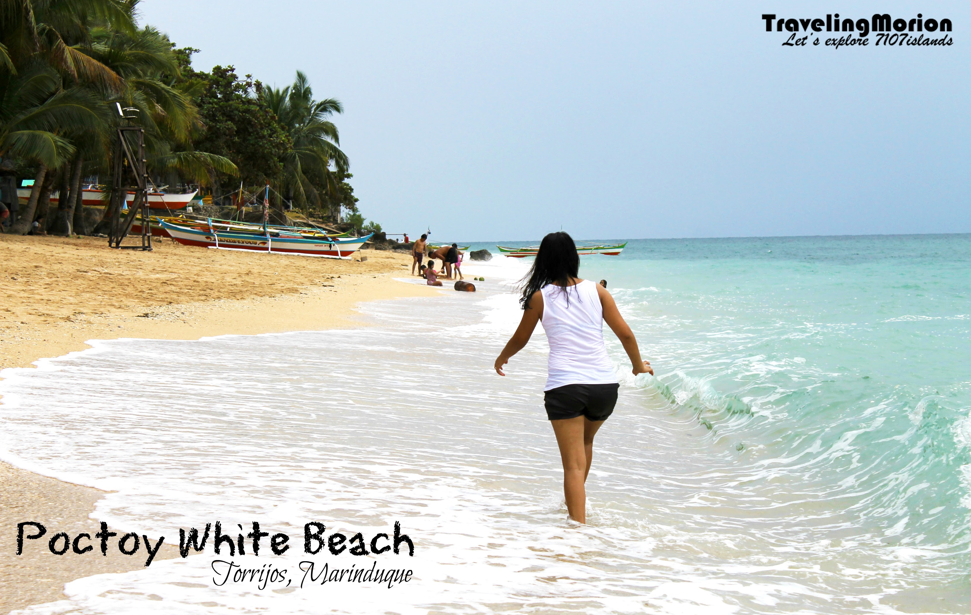 Poctoy White Beach in Torrijos