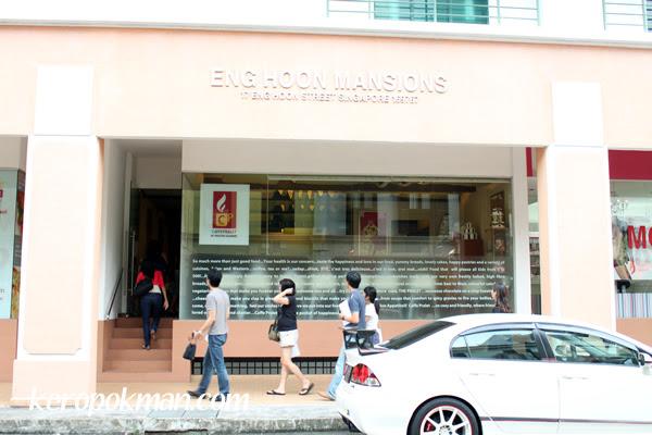 Cafe Pralet at Eng Hoon Mansions