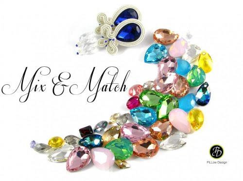 Kolorowa biżuteria ślubna