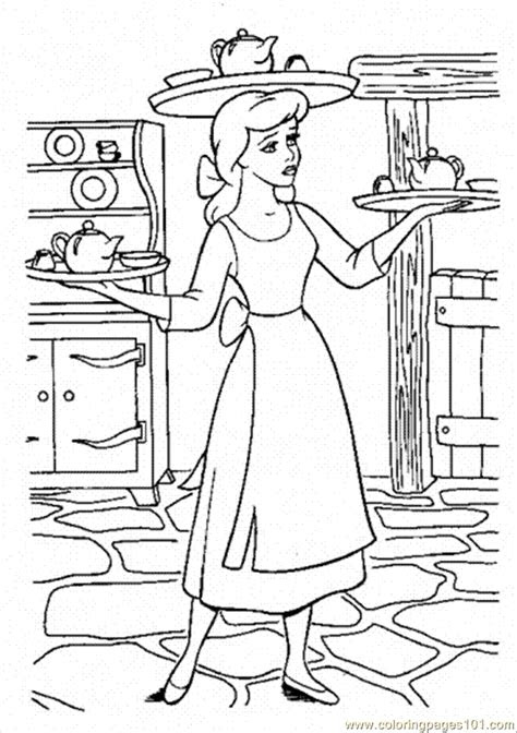 woman  cooking coloring page  gender coloring