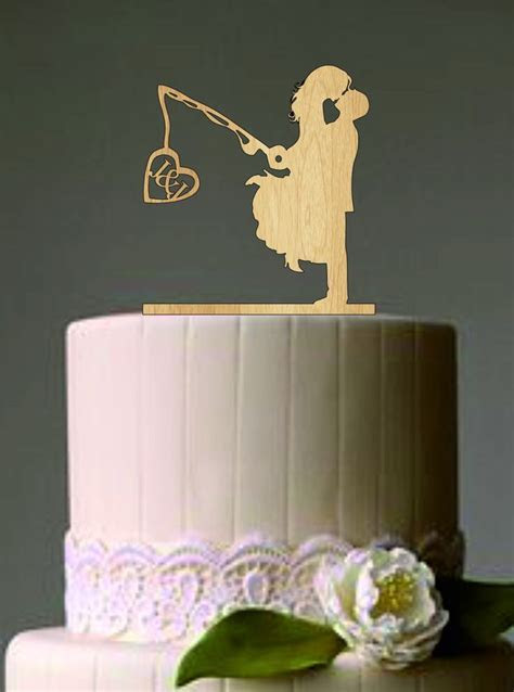 25  Best Ideas about Fishing Wedding Cake Toppers on
