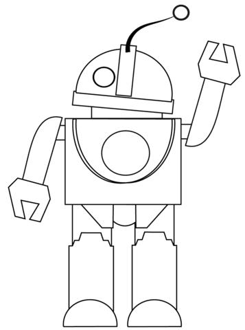 Disegni Di Robot Da Stampare E Colorare Coloratutto Website