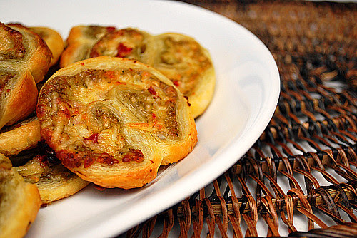 Pesto Palmiers
