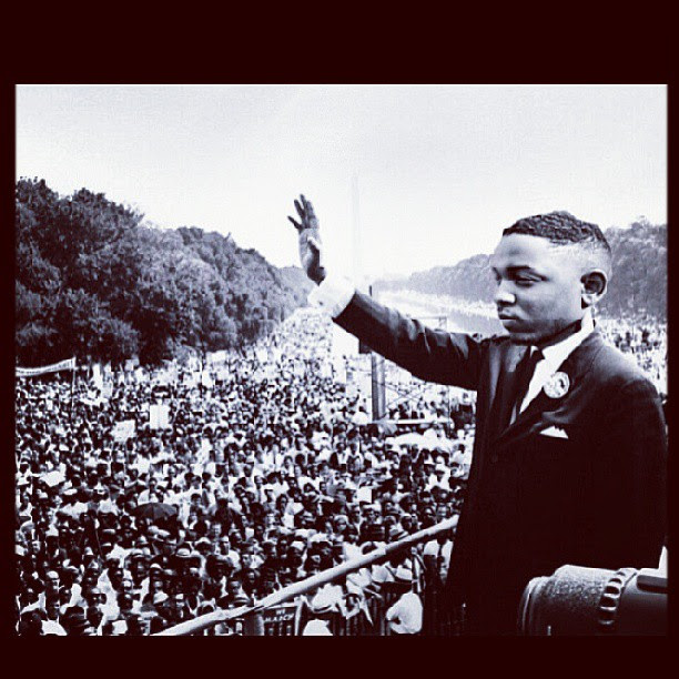 Kendrick Lamar as MLK Jr.