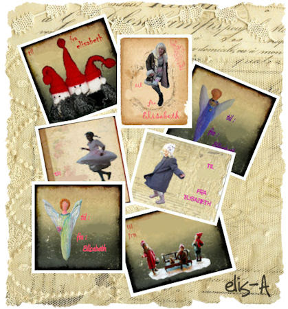 collage of gift tags