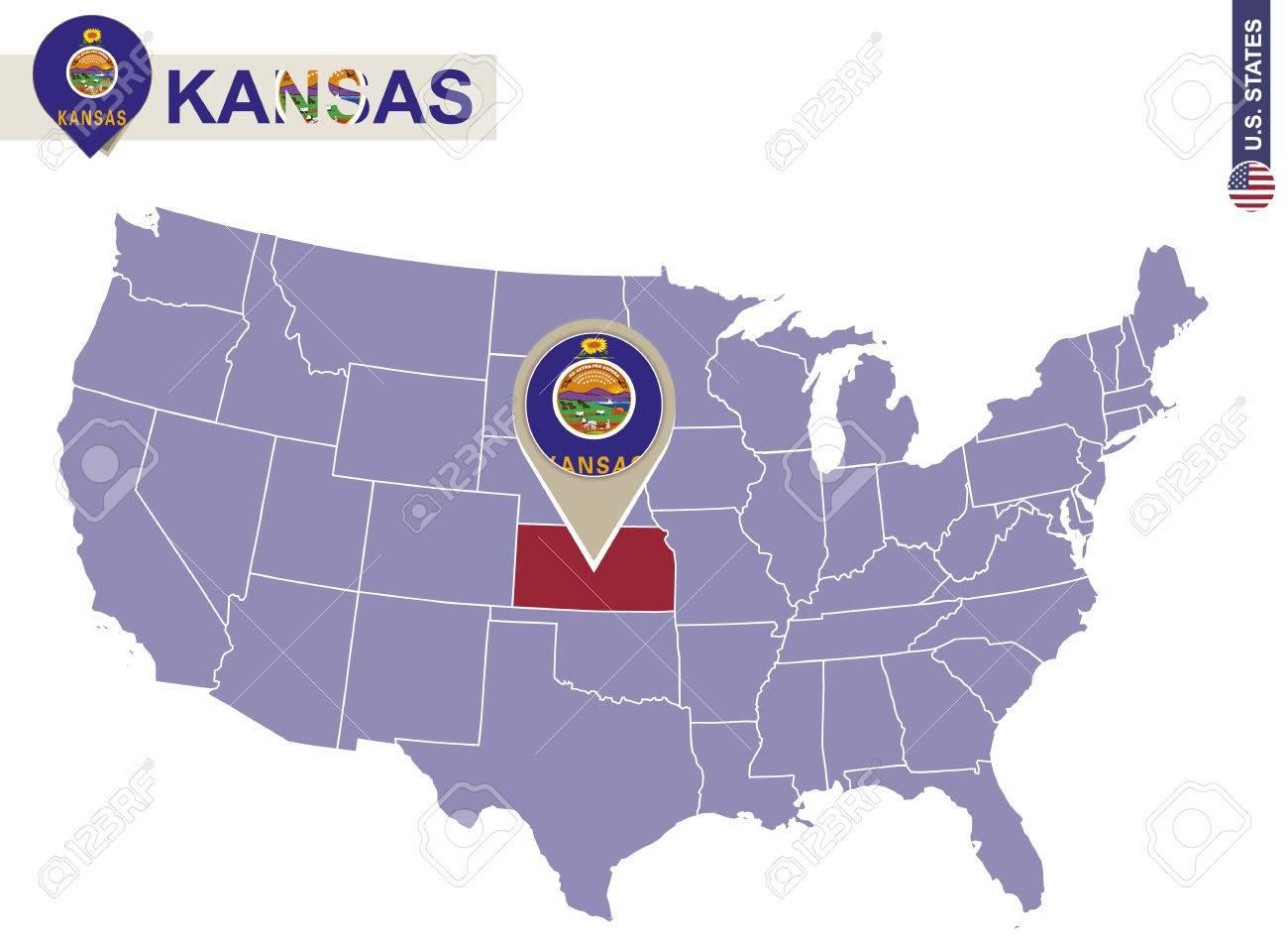 Map Of America Kansas City.Us Map Kansas City