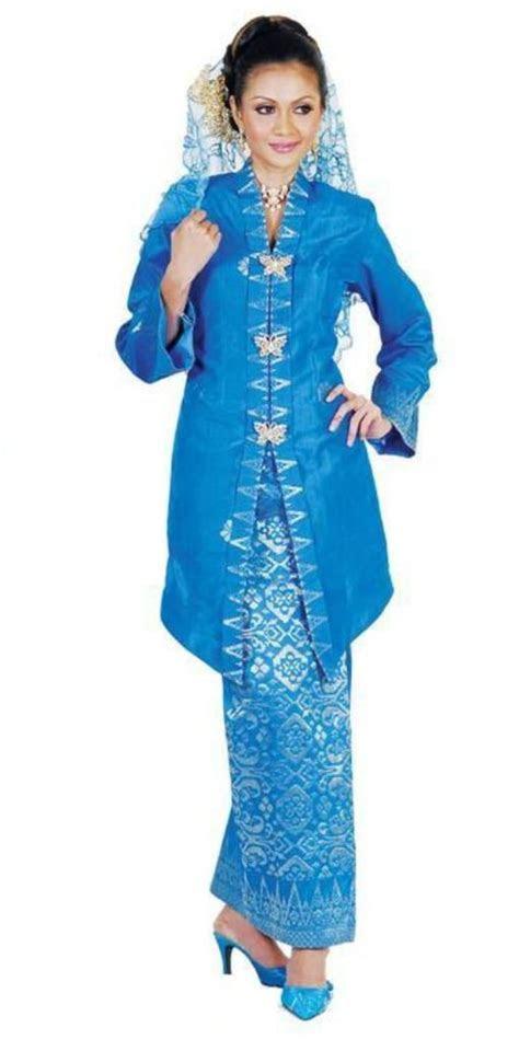 kebaya songket malay traditional costume