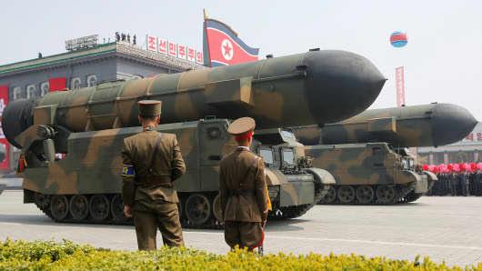 No dia 15 de abril de 2017, o líder da Coréia do Norte, Kim Il Sung, anunciou que os mísseis serão levados para além do estande com o líder norte-coreano Kim Jong Un e outros altos funcionários durante um desfile militar que marcará o 105º aniversário do nascimento do pai fundador da Coréia do Norte, Kim Il Sung.