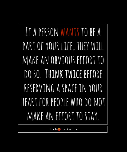 Quotes About Not Making Effort 34 Quotes