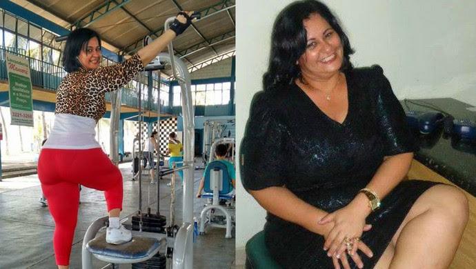 Ivani Cantanhede, perdeu 100 kg em 30 meses (Foto: Ivani/ Arquivo pessoal)