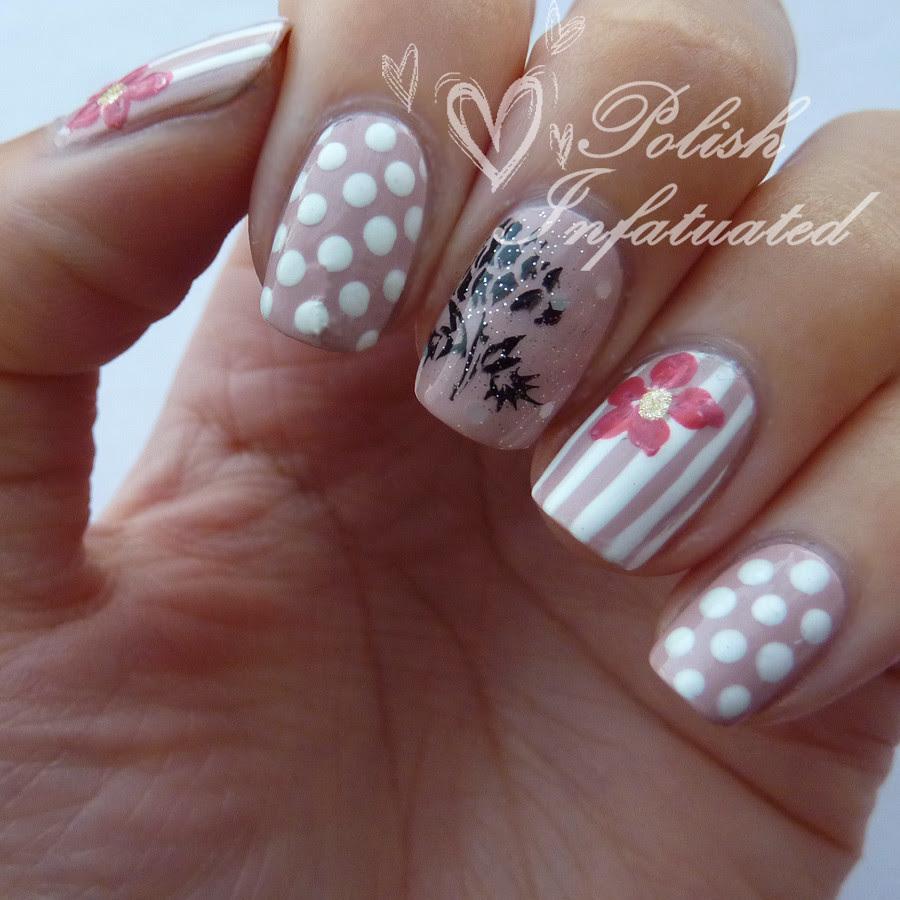 polka dot, stripes and flowers2
