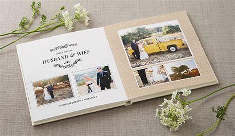 Tell Your Love Story with Shutterfly Wedding Photo Books