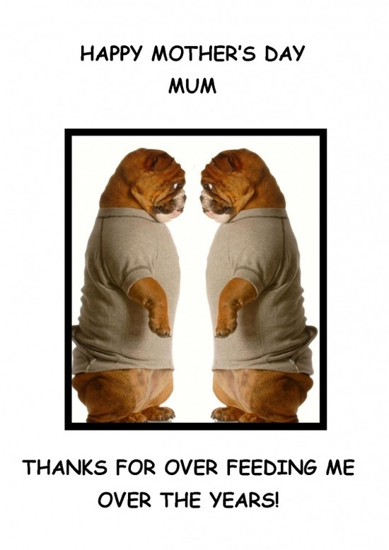 Funny Mother's day greeting