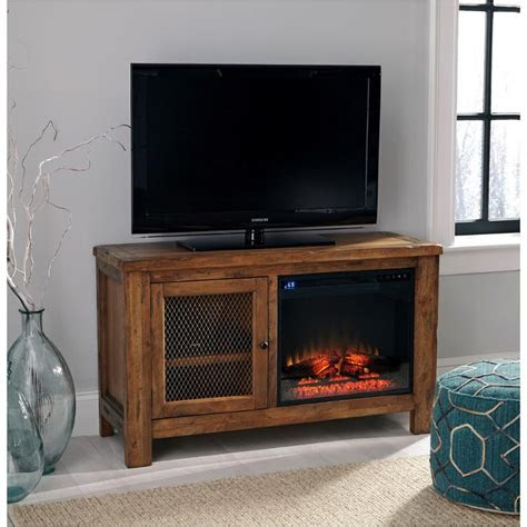 ashley furniture tv stand  fireplace option