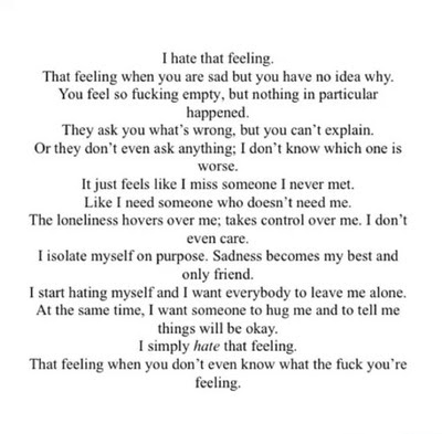 Lost Girl Quote Depressed Depression Sad Lonely Quotes Hurt Friends