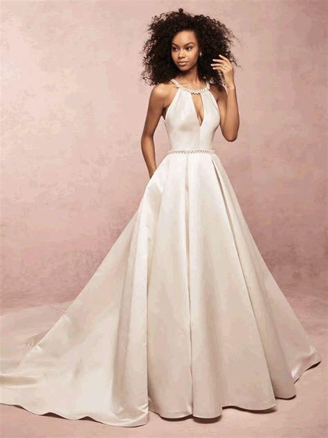 Collette Rebecca Ingram Satin Wedding Dress Bridal Gown
