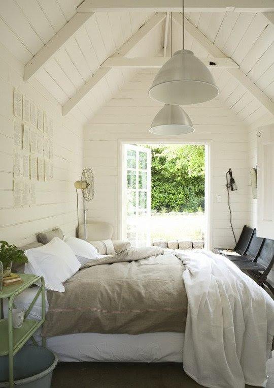 White Shiplap - Bedroom