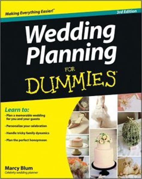 Wedding Planning For Dummies by Marcy Blum   9781118435687