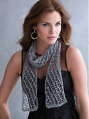 LaVerne 1-Ball Scarf Knit Pattern - Electronic Download